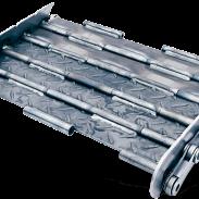 tapis métallique renforcé convoyeur