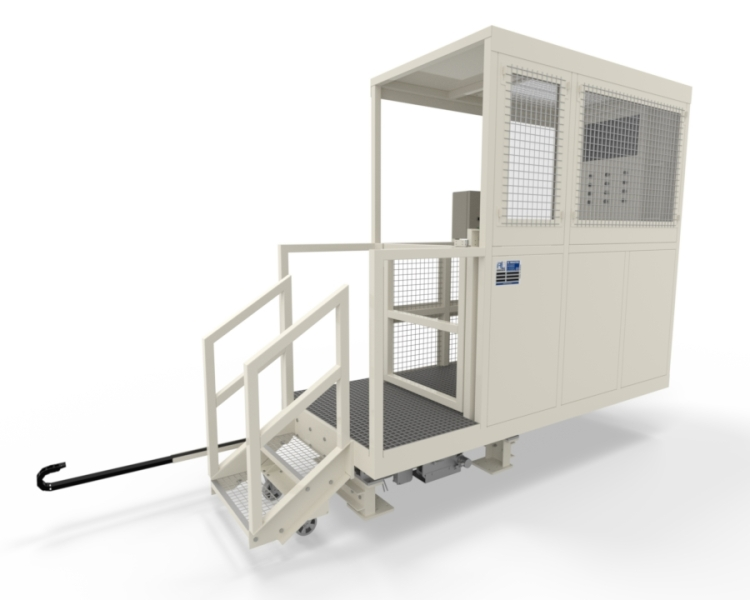 Cabine mobile protection operateur