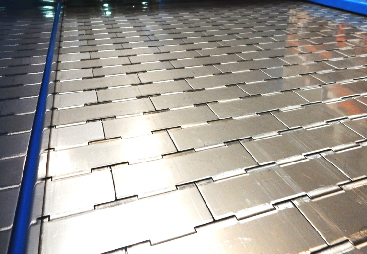 Tapis métallique inox