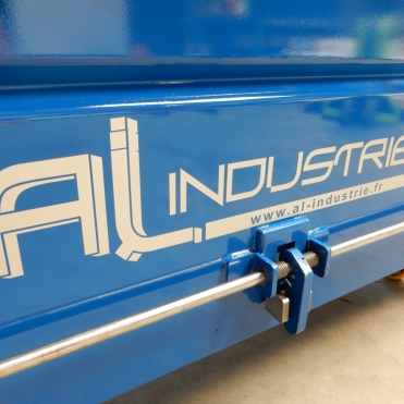 Ouverture benne AL Industrie