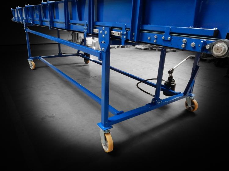 Structure de soutien Convoyeur TMP 1600 Tonnes