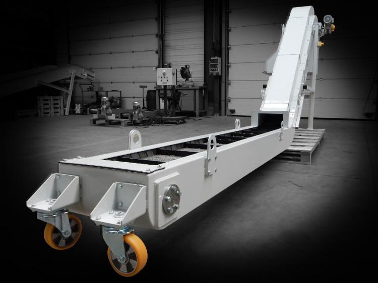 Transport de copeaux aluminium
