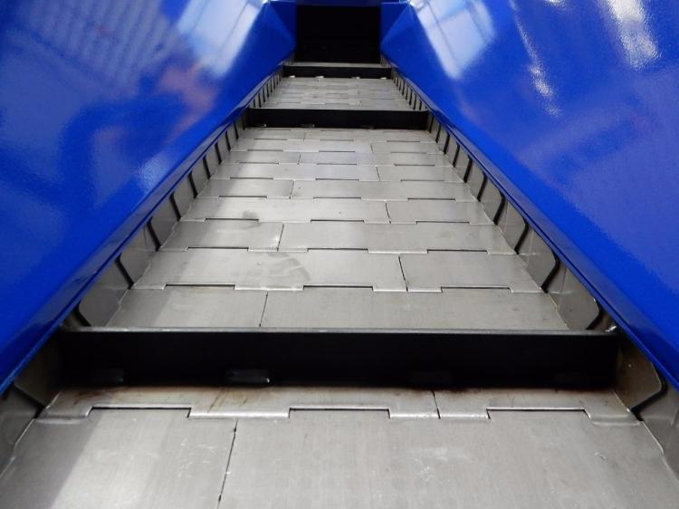 convoyeur a tapis metallique sculfort