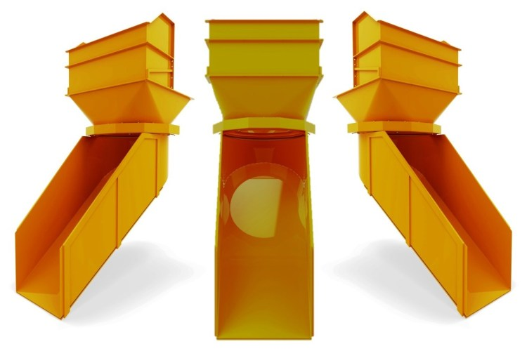 goulotte rotative motorisee