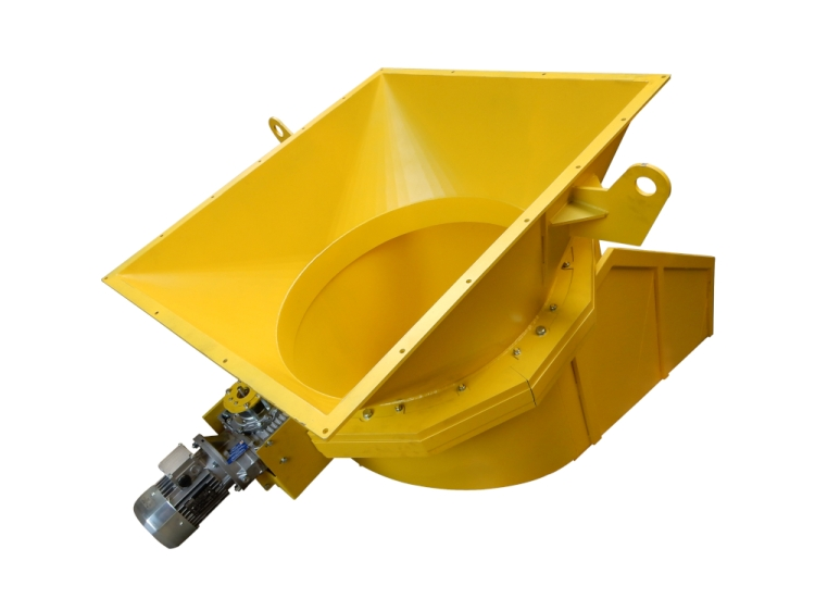Goulotte rotative