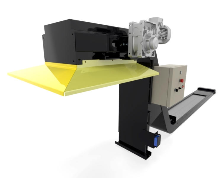 Convoyeur decoupe laser